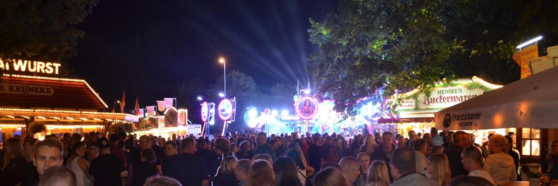Festplatz vom Osterholzer Erntefest